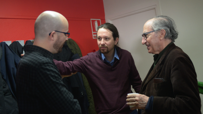 Pablo Iglesias y Vicenç Navarro