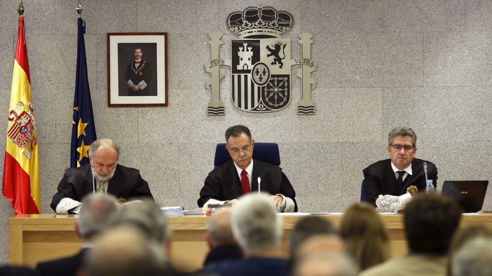 Tribunal del caso Gürtel. (Foto: AFP)