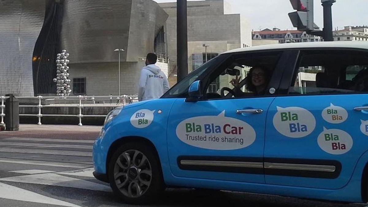 Imagen promocional de BlablaCar.