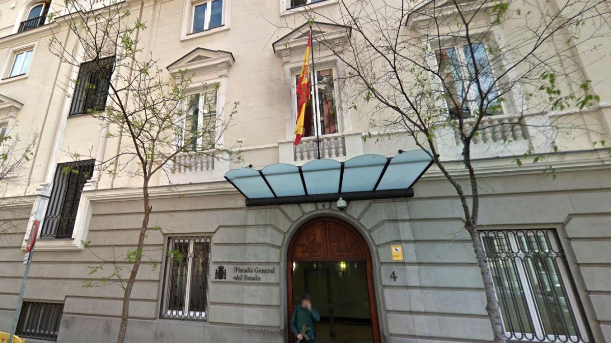 Sede de la Fiscalía general del Estado, en la madrileña calle Fortuny.