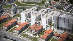 El hospital Marqués de Valdecilla, de Santander, donde ha sido hospitalizado el bebé en estado grave.
