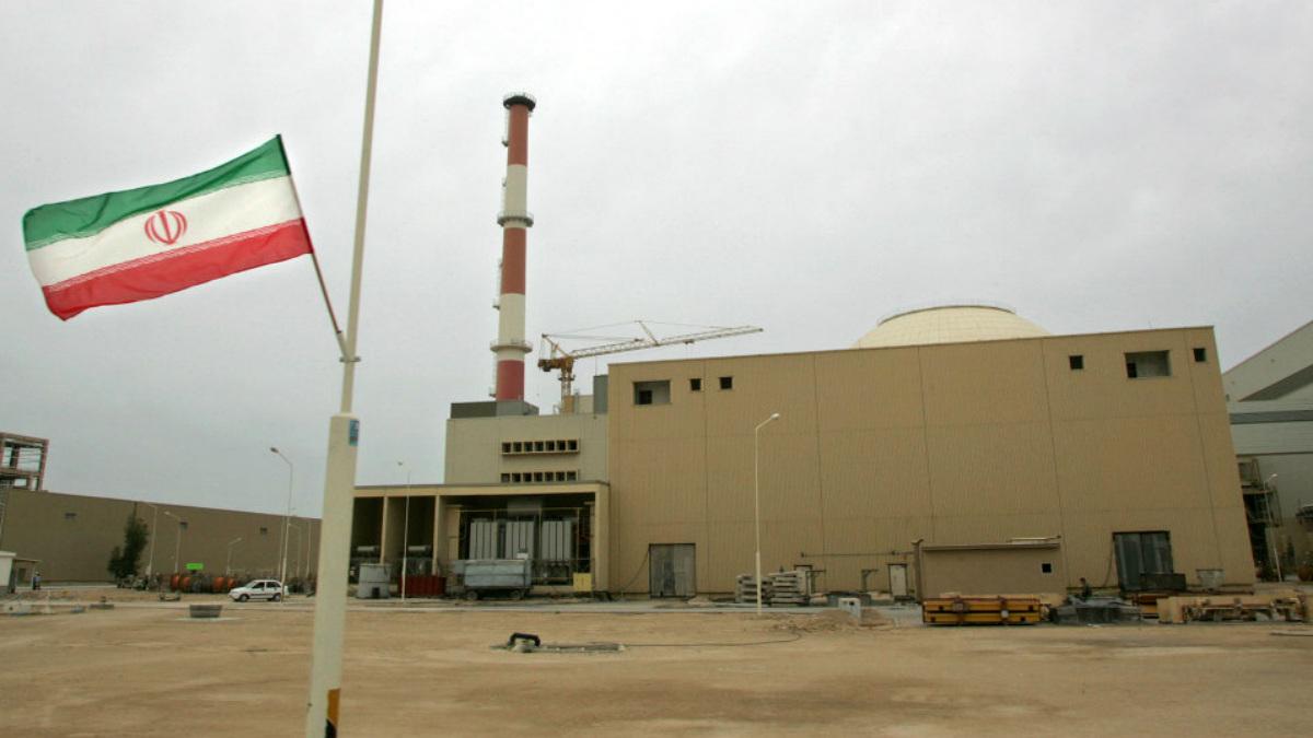 Central nuclear de Bushehr (Irán).