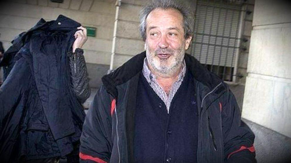 Juan Lanzas, 'conseguidor' de los ERE, camino del juzgado.