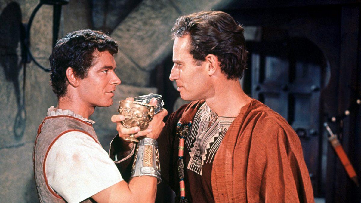 Escena de la película Ben-Hur