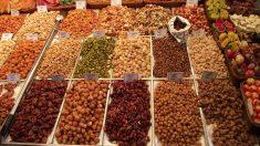 Tienda de frutos secos y snacks.