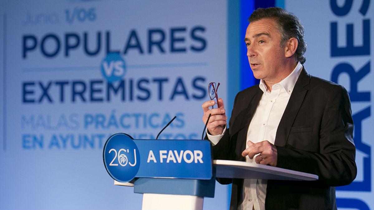 El alcalde de Tarazona (Zaragoza), Luis María Beamonte (Foto: pp.es)