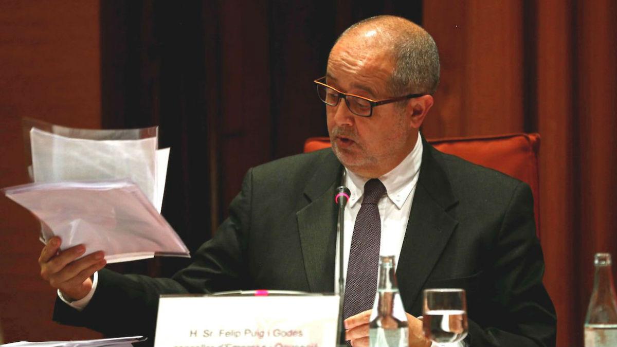 El ex conseller catalán de Interior y Medio Ambiente, Felip Puig (Foto: EFE)