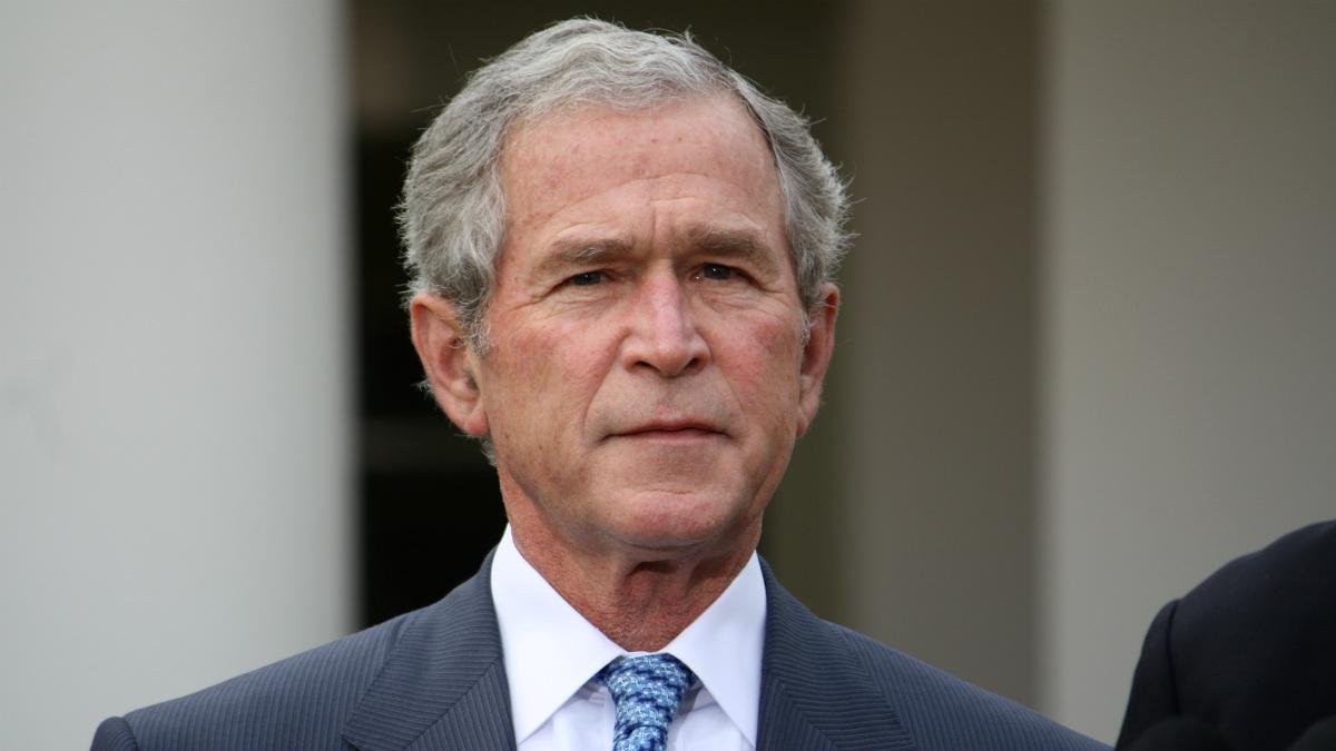 El ex presidente de Estados Unidos George W. Bush.