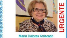 La vecina de Móstoles María dolores Arriscado, desaparecida el 6 de febrero, ha sido hallada muerta.