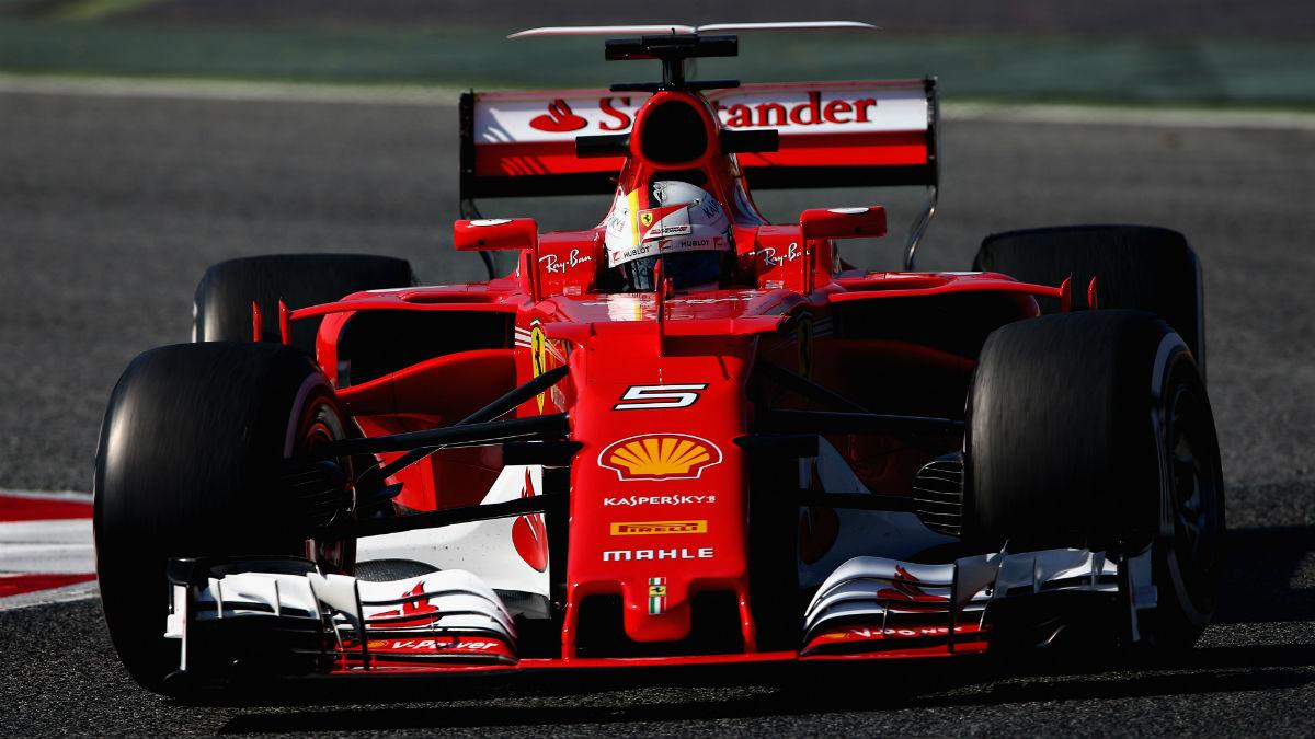 Ya nadie duda en Maranello de que Ferrari peleará por el mundial de Fórmula 1 de 2017 hasta el final. (Getty)