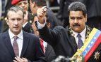 Tareck Aissami y Nicolás Maduro