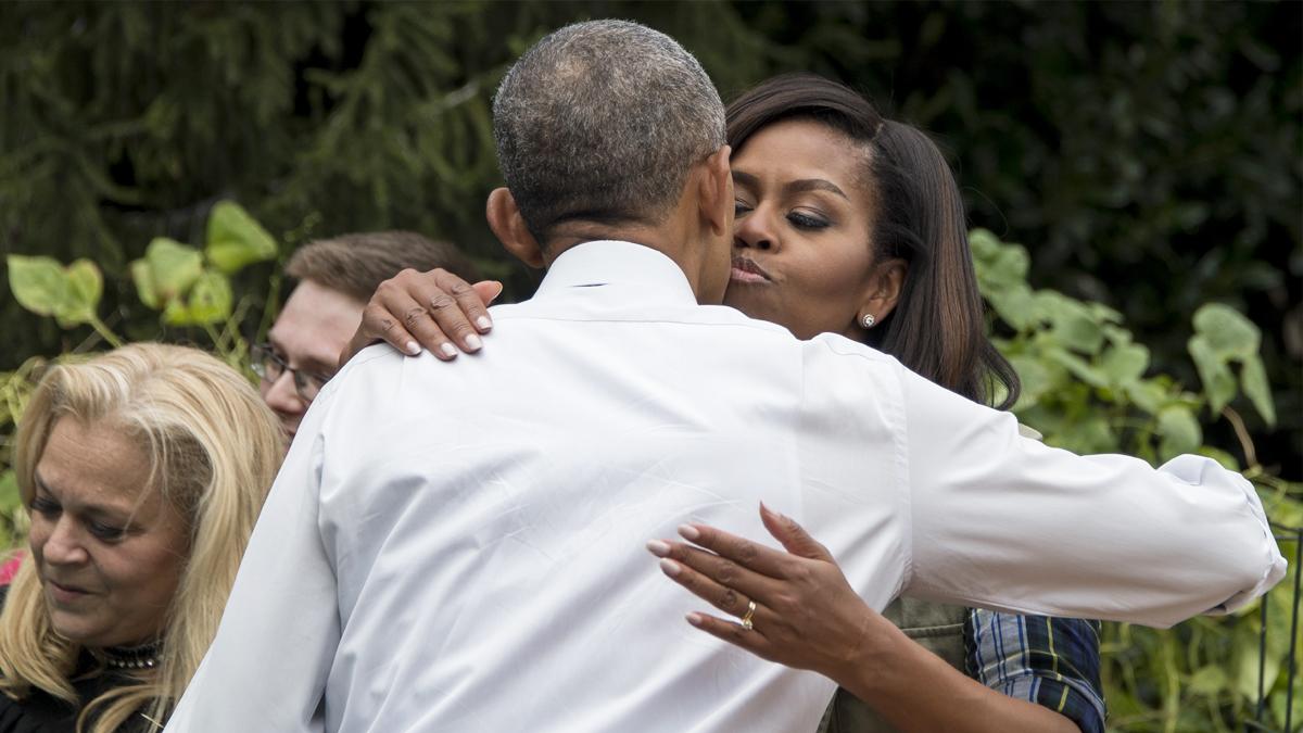 Barack y Michelle Obama. (Foto: AFP)