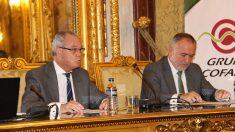 El presidente de Cofares, Carlos González Bosch, y el director general, Martín Pérez Segado.