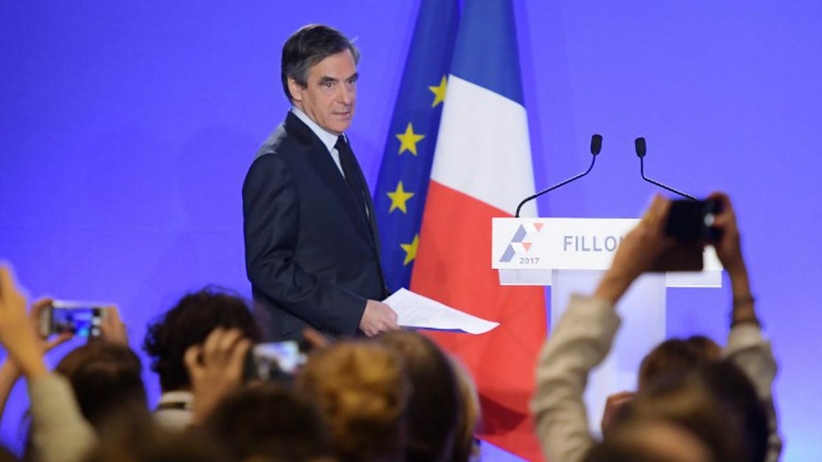 François Fillon en una reciente imagen (Foto: AFP).