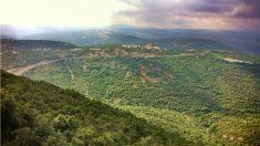 Territorio libanés visto desde la frontera con Israel. (ADP)