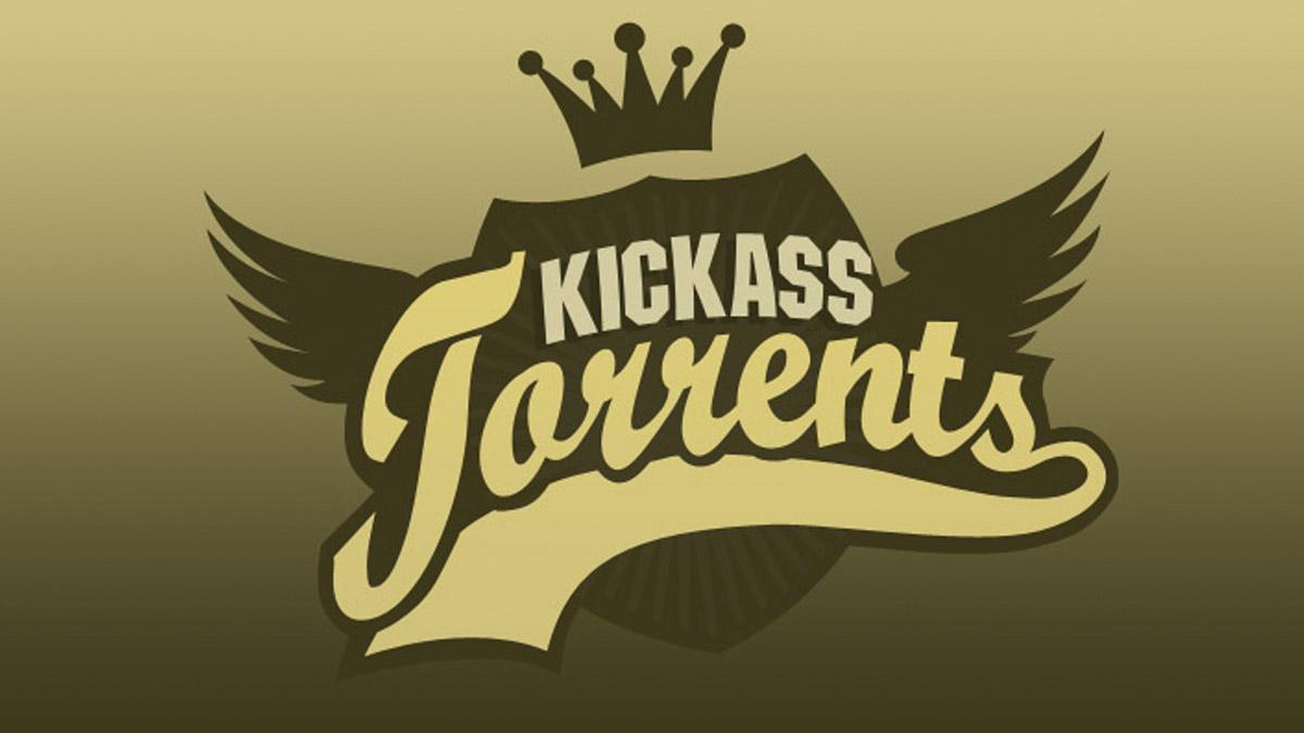 Logo de la clausurada web Kickass Torrents.