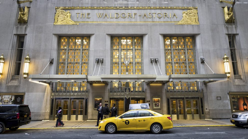 Waldorf Astoria. (Foto: AFP)
