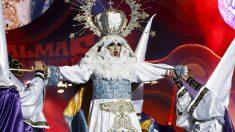 Drag Sethlas en el Carnaval de Las Palmas de 2017. (Foto: EFE)