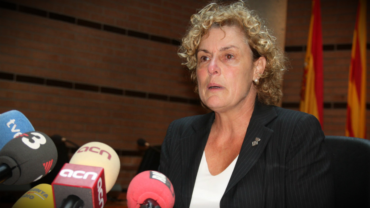 La diputada independentista de JxS Magda Casamitjana.