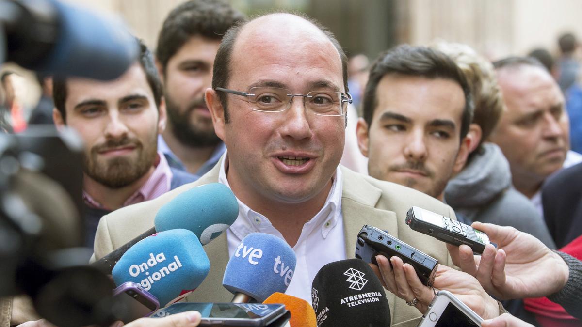 Pedro Antonio Sánchez. (Foto: EFE)