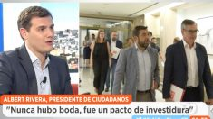 El presidente de Ciudadanos, Albert Rivera, en 'Espejo Público' (Foto: Antena 3)