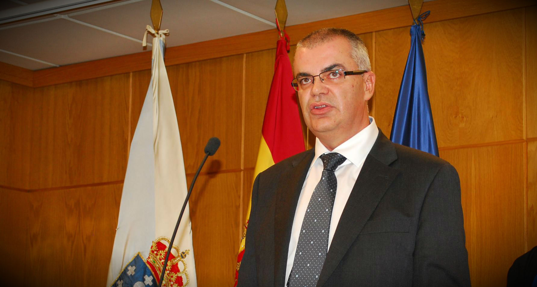 Santiago Villanueva, delegado del Gobierno en Galicia.