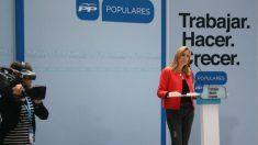 Ana Beltrán, presidenta del PP de Navarra.