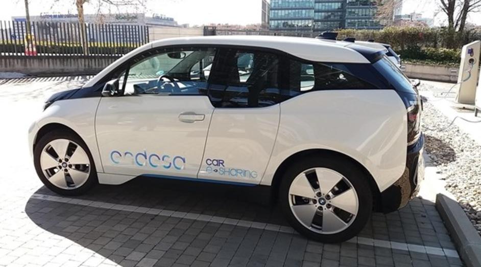 Uno de los coches eléctricos de Endesa. Foto: Endesa