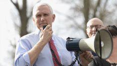El vicepresidente de Estados Unidos, Mike Pence. (Foto: AFP)