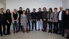 Foto de familia de Podemos, IU y Equo de cara a las elecciones 2019 en Madrid. (Foto: TW)