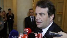 Thierry Solere, portavoz jefe del equipo de campaña del candidato presidencial del partido conservador francés Los Republicanos, François Fillon. Foto: AFP