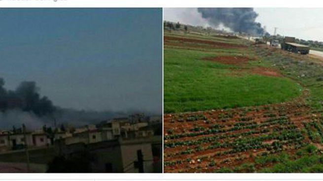 Un avión de combate sirio se estrella en la frontera con Turquía