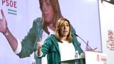 Susana Díaz en un reciente acto.(Foto: Efe).