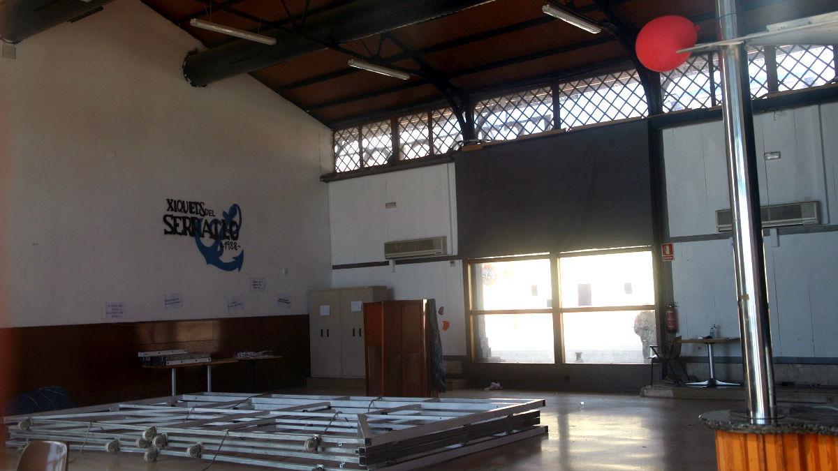 Interior del local donde se produjo la tragedia (Foto: Efe).