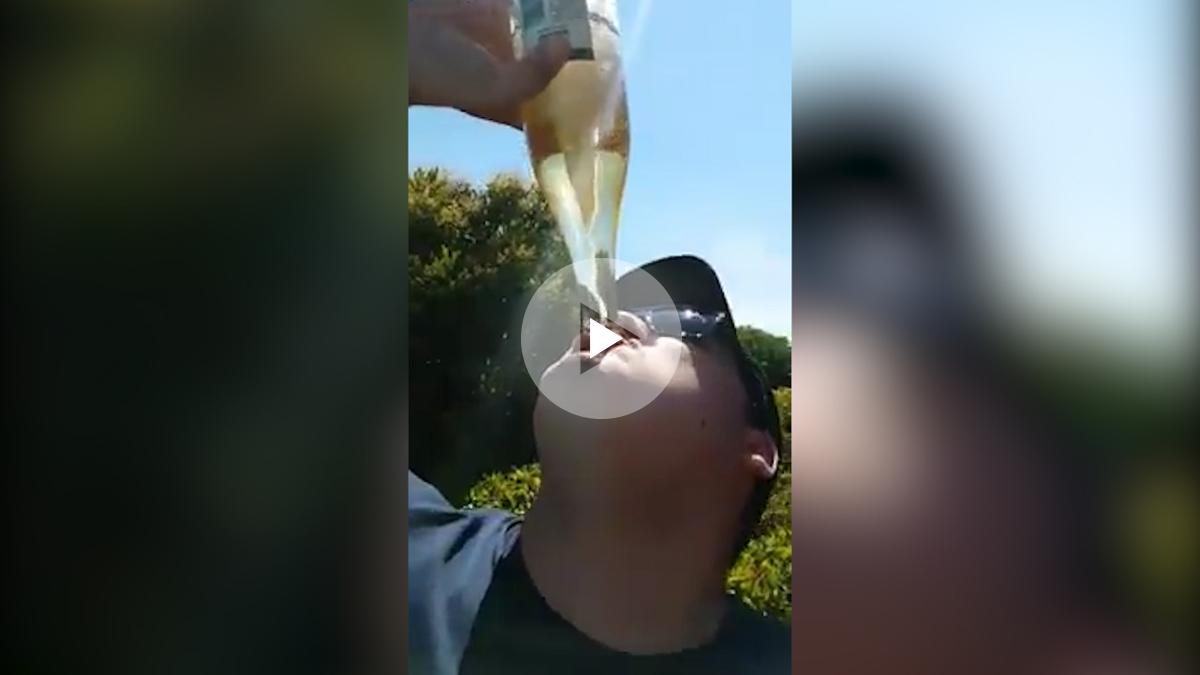 La cerveza tornado