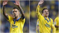 Jonathan Viera y Roque Mesa, futbolistas de Las Palmas