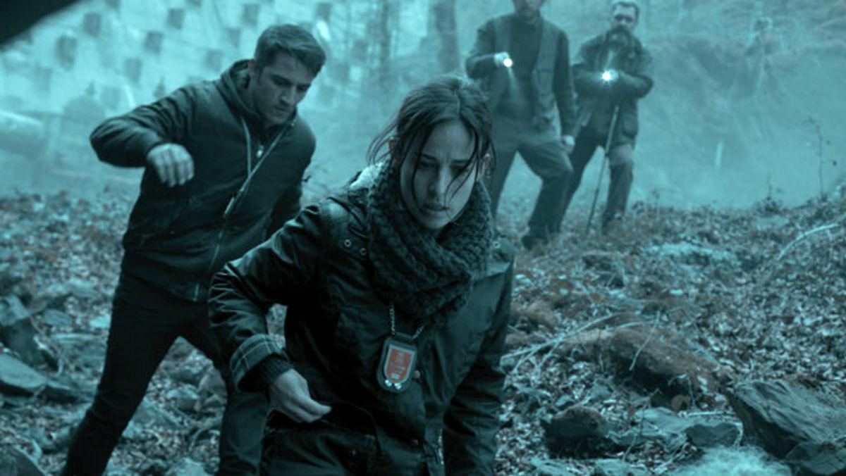 Marta Etura en una escena de «El guardián invisible», estrenada este fin de semana.