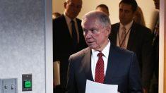 El ex fiscal general de EEUU, Jeff Sessions (Foto: AFP)