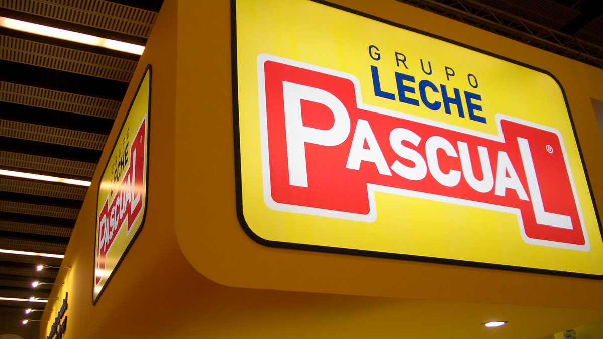 Stand de Leche Pascual.