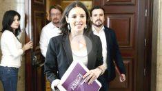 La portavoz de Unidos Podemos en el Congreso, Irene Montero (Foto: Efe)