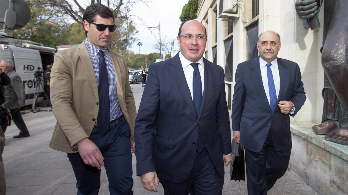 El presidente de la Región de Murcia, Pedro Antonio Sánchez. (Foto: EFE)