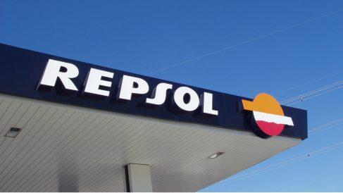 Gasolinera de Repsol (Foto: Wikimedia).
