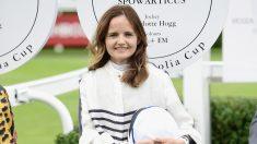 Charlotte Hogg, número dos del Banco de Inglaterra en un festival deportivo (Foto: Getty)