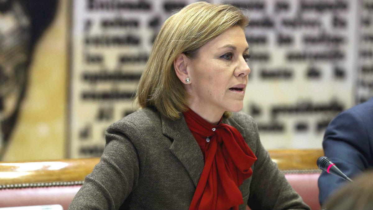 La ministra de Defensa, María Dolores de Cospedal (Foto: Efe)