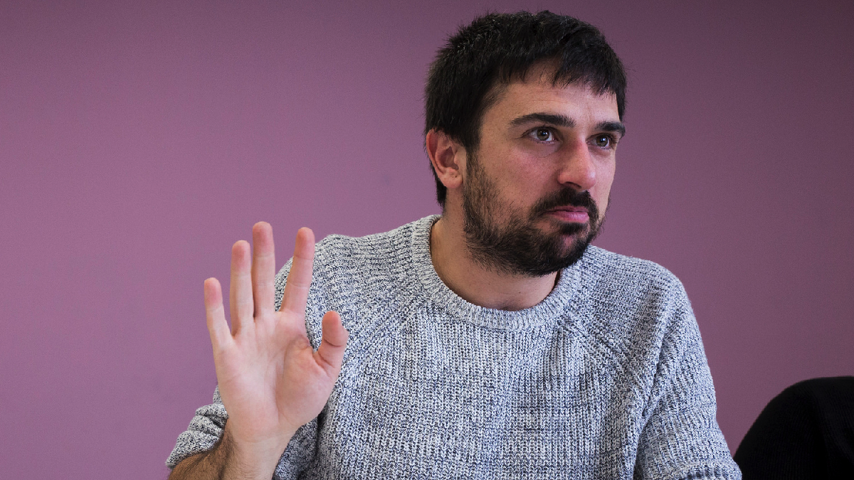 El secretario general de Podemos Comunidad de Madrid y portavoz del partido en el Senado, Ramón Espinar (Foto: Flickr)