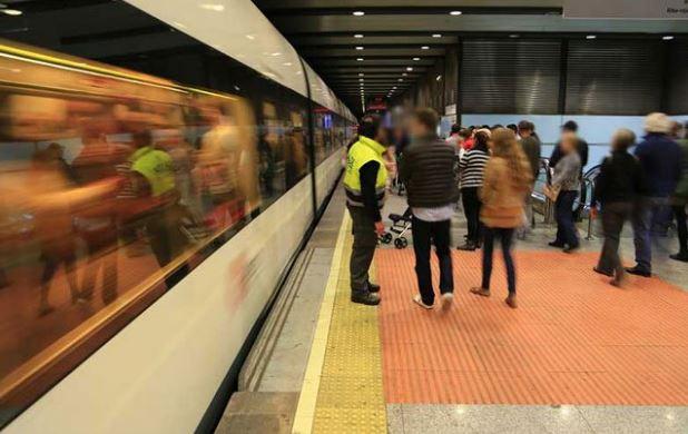 Fallas 2017 metro