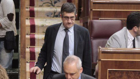 Patxi López en el Congreso de los Diputados (Foto: Francisco Toledo)