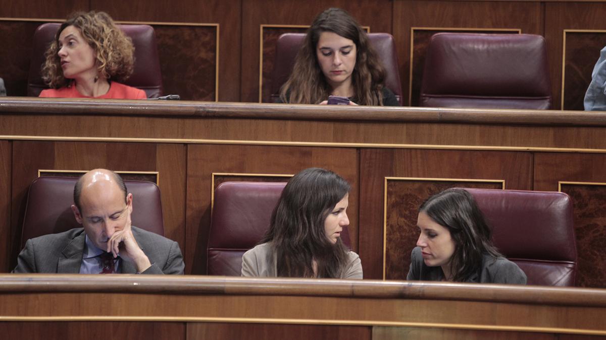 Irene Montero en el Congreso (Foto: Francisco Toledo)