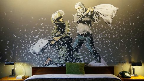 Walled Off Hotel. (Foto: www.banksy.co.uk)