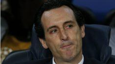 Unai Emery se lamenta por la oportunidad perdida. (AFP)